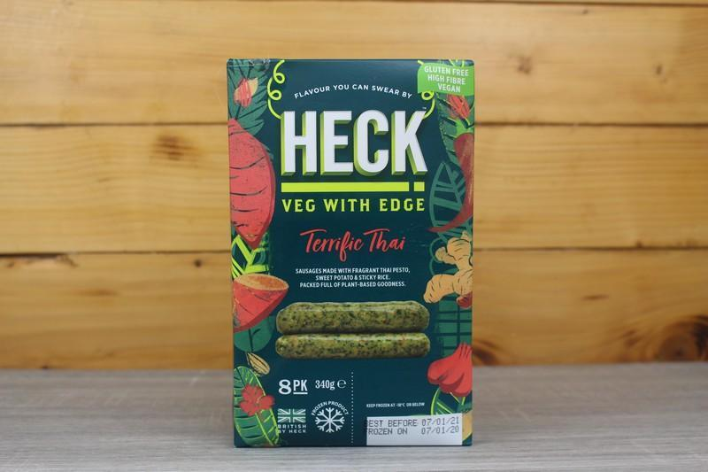 Heck Terrific Thai Vegan Sausages 340g Freezer > Meat Alternatives