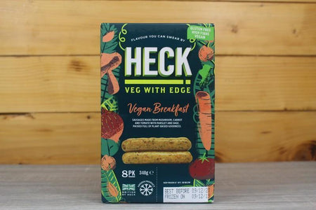 Heck Vegan Breakfast Sausages 340g Freezer > Meat Alternatives