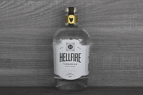 Hellfire Bluff Hellfire Bluff Vodka 40% 700ml Alcohol > Spirits