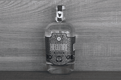 Hellfire Bluff London Dry Gin 45% 700ml Alcohol > Spirits