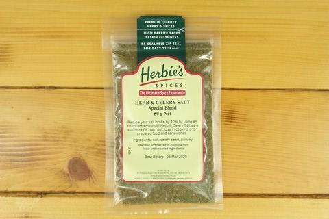 Herbies Curry Powder Medium Madras 50g