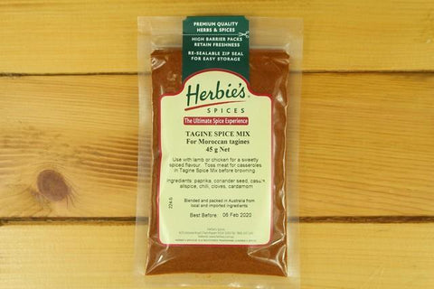 Herbies Paprika Hot 45g
