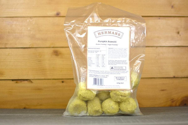 Hermans Gluten Free Pumpkin Arancini 300g Freezer > Ready-Made Meals