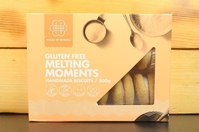 House Of Biskota GF Melting Moment Biscuit 200g Pantry > Biscuits, Crackers & Crispbreads