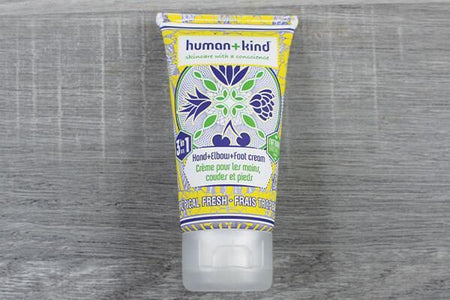 Human & Kind Hand+Elbow+Foot Cream 50ml Tropical Fresh Personal Goods > Skin Care