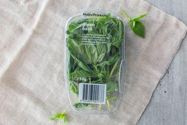 Hydro Produce Green Basil Punnet 15g* Produce > Vegetables