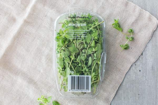 Hydro Produce Marjoram Punnet 15g* Produce > Vegetables