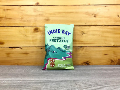 Indie Bay Sunflower Pretzel Bites Superseeds 100g Pantry > Cookies, Chips & Snacks