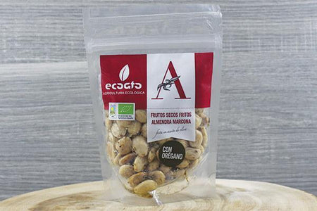 Indo-Iberica Org Almonds with Oregano 125g Pantry > Dried Fruit & Nuts