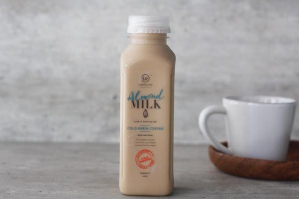 Inside/Out Flavoured Almond Milk Cold Brew Coffee 350ml* Drinks > Milks & Dairy Alternatives
