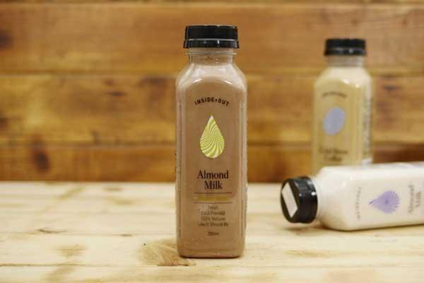 Inside/Out Flavoured Almond Milk Organic Cacao 350ml* Drinks > Milks & Dairy Alternatives