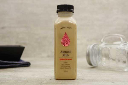 Inside/Out Flavoured Almond Milk Salted Caramel 350ml* Drinks > Milks & Dairy Alternatives