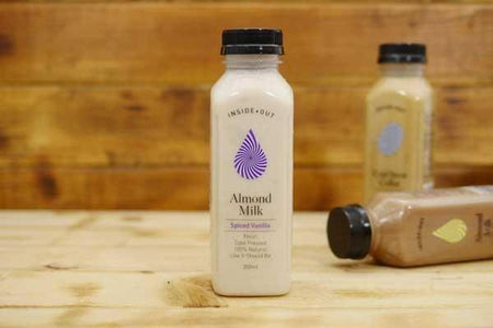 Inside/Out Flavoured Almond Milk Spiced Vanilla 350ml* Drinks > Milks & Dairy Alternatives