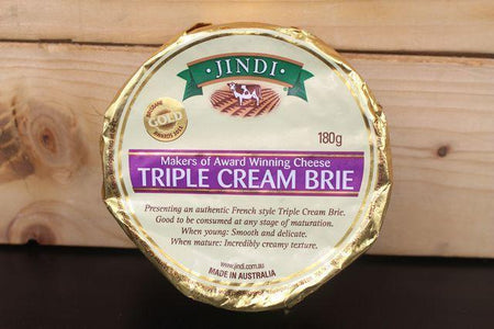 Jindi Jindi Brie Triple Cream  180g Dairy & Eggs > Cheese