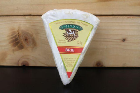 Jindi Jindi Brie Wedge 125g Dairy & Eggs > Cheese