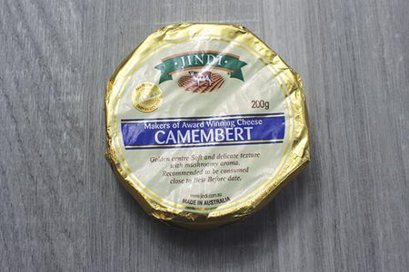 Jindi Jindi Camembert Round 200g Dairy & Eggs > Cheese