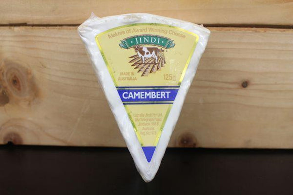 Jindi Jindi Camembert Wedge 125g Dairy & Eggs > Cheese