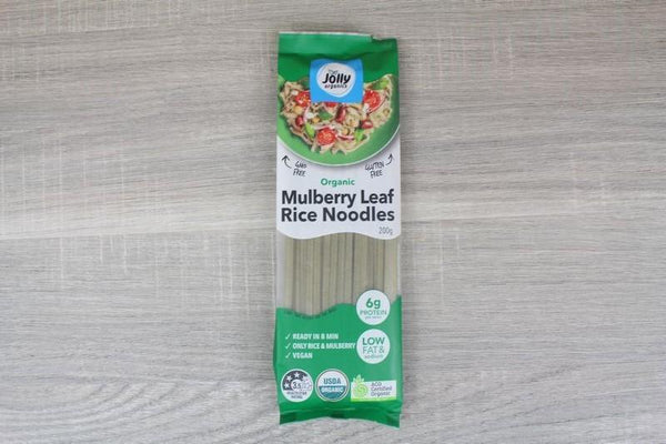 Jolly Mulberry Leaf Rice Noodle 200g Pantry > Pasta, Sauces & Noodles
