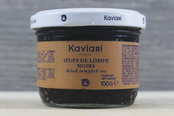 Kaviari Lumpfish Roe Black 100g Seafood > Packaged Seafood