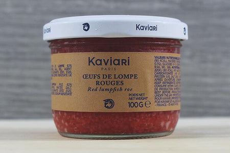 Kaviari Lumpfish Roe Red 100g Seafood > Packaged Seafood