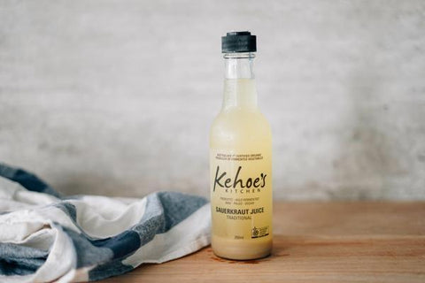 Kehoe's Kitchen Traditional Sauerkraut Juice 250ml Drinks > Juice, Smoothies & More