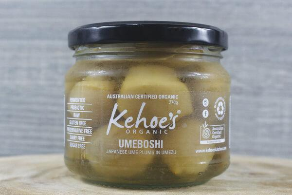 Kehoe's Kitchen Umeboshi 270g Pantry > Antipasto, Pickles & Olives