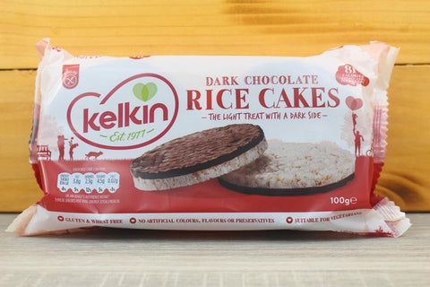 Dark Chocolate & Orange Rice Cake 100g