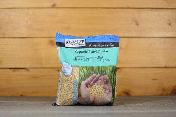 Kialla Pure Foods Grain Pearl Barley 500g Pantry > Grains, Rice & Beans