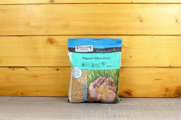 Kialla Pure Foods Organic Wheat Grain 500g Pantry > Grains, Rice & Beans