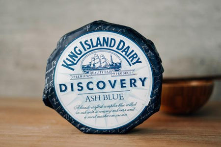 King Island Discovery Ash Brie Cheese 500g Dairy & Eggs > Cheese