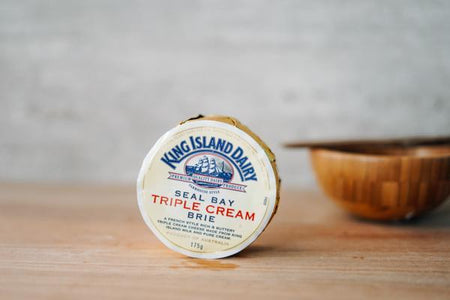 King Island Seal Bay Triple Cream Brie Cheese 175g Dairy & Eggs > Cheese