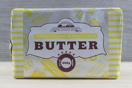 King Valley Dairy King Valley Lightly Salted 500g Dairy & Eggs > Butter