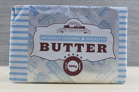 King Valley Dairy King Valley Unsalted 500g Dairy & Eggs > Butter