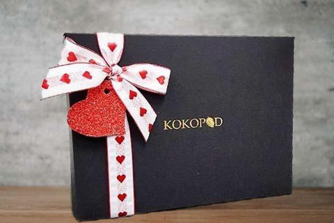 Kokopod Chocolate Be My Valentine Medal Chocolate Collection Pantry > Confectionery