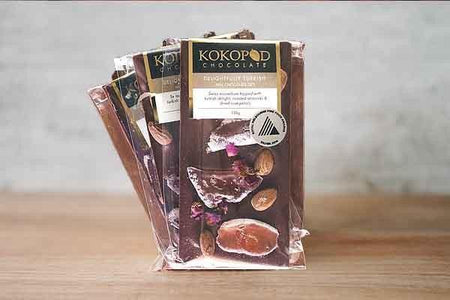 Kokopod Chocolate Delightfully Turkish 38% Milk Chocolate 130g Pantry > Confectionery