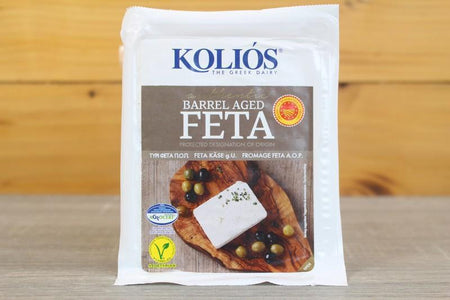 Kolios Barrel Aged Feta P.D.O. Cheese 200g Dairy & Eggs > Cheese