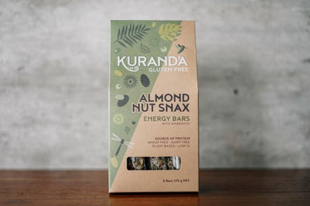 Kuranda Almond Snax 5 Pack Seed Bars 175g Pantry > Granola, Cereal, Oats & Bars