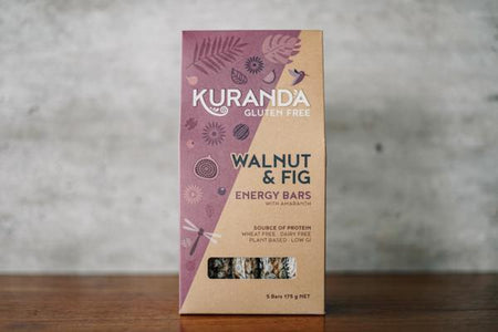 Kuranda Walnut & Fig 5 Pack Seed Bars 175g Pantry > Granola, Cereal, Oats & Bars