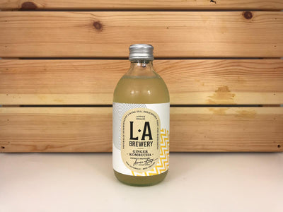LA Brewery LA Ginger Kombucha 300ml Drinks > Coffee & Tea