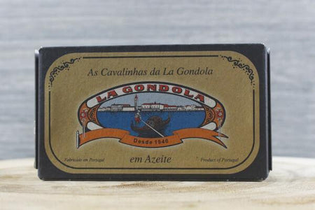 La Gondola Small Mackerels in Olive Oil 125g Pantry > Canned Goods