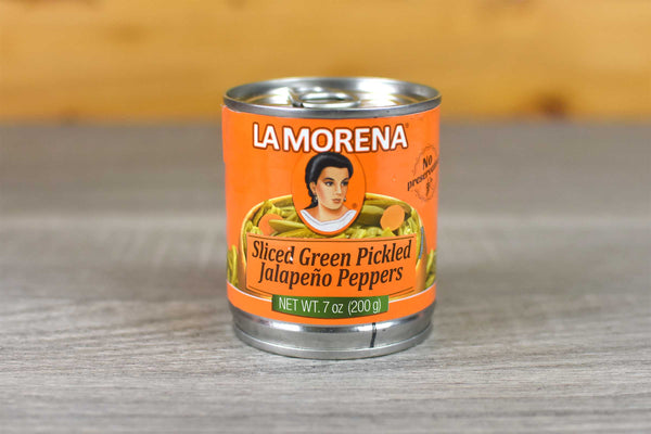 La Morena Sliced Pickled Green Jalapenos 200g Pantry > Antipasto, Pickles & Olives