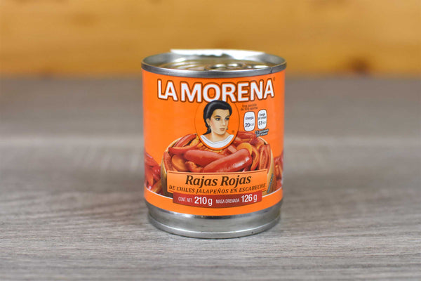 La Morena Sliced Red Jalapenos 210g Pantry > Antipasto, Pickles & Olives