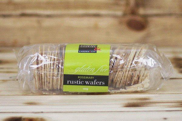 Larder & Co. Gluten Free Rosemary Wafers 120g Pantry > Biscuits, Crackers & Crispbreads