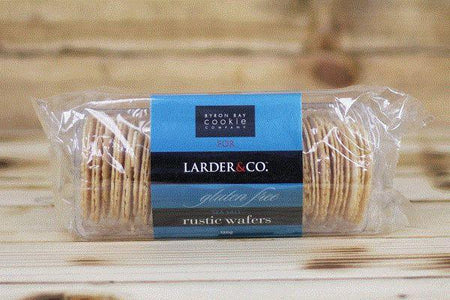 Larder & Co. Gluten Free Sea Salt Wafers 120g Pantry > Biscuits, Crackers & Crispbreads