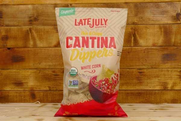 Late July Cantina Dippers White Corn Tortilla Chips 8oz Pantry > Cookies, Chips & Snacks