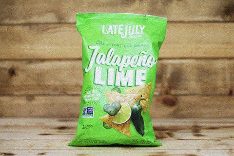 Late July Jalapeno Lime Tortilla Chips 5.5oz Pantry > Cookies, Chips & Snacks