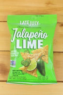 Late July Late July Jalapeno Lime Chips 1.5oz Pantry > Cookies, Chips & Snacks