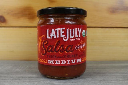 Late July Late July Medium Salsa 15.5oz Pantry > Pasta, Sauces & Noodles