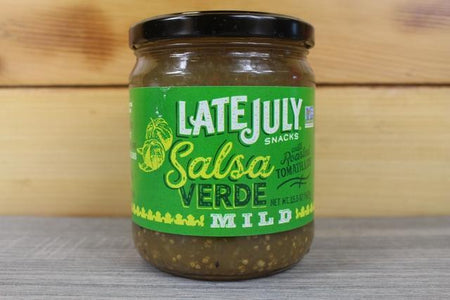 Late July Late July Verde Salsa 15.5oz Pantry > Pasta, Sauces & Noodles