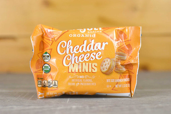 Late July Mini Cheddar Cheese Pouches 1.125oz Pantry > Chips & Savoury Snacks